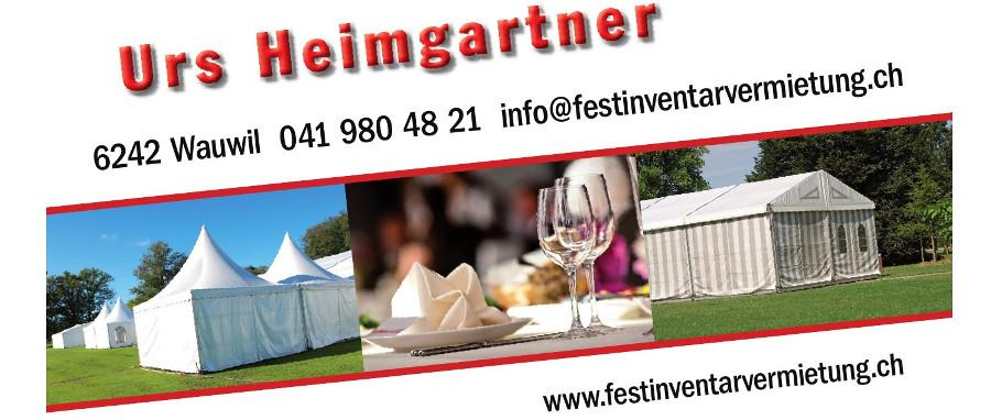 Urs Heimgartner Zelt & Festinventarvermietung